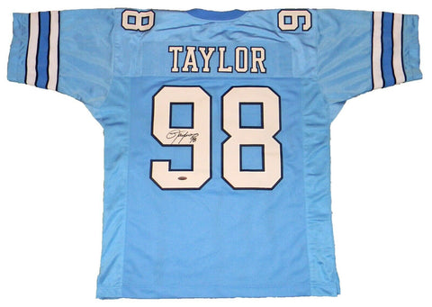 Lawrence Taylor Signed North Carolina Tar Heels Jersey TriStar