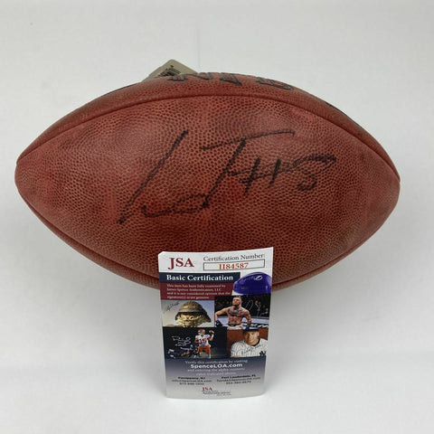 LAMAR JACKSON Autographed/Signed Ravens Authentic The Duke Football JSA COA