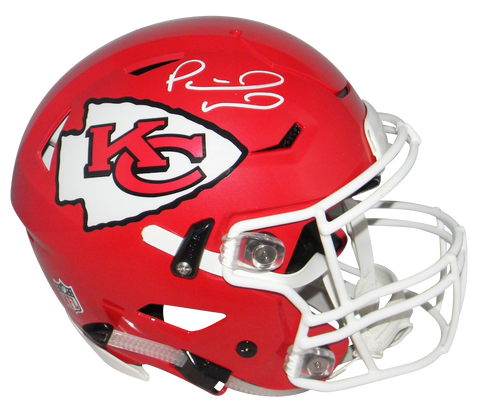 PATRICK MAHOMES SIGNED KANSAS CITY CHIEFS F/S AUTHENTIC SPEEDFLEX HELMET BECKETT