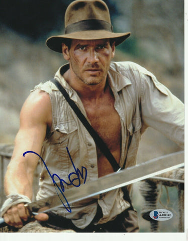 Harrison Ford Autographed Indiana Jones 8x10 Photo Beckett