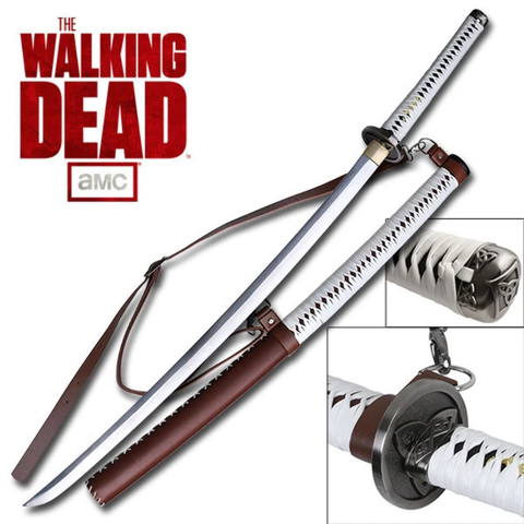Officially Licensed Walking Dead Michonne Samurai Sword Katana