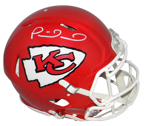 PATRICK MAHOMES SIGNED KANSAS CITY CHIEFS SUPER BOWL LIV SPEED AUTHENTIC HELMET