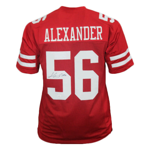 Kwon Alexander Autographed Pro Style Football Jersey Red