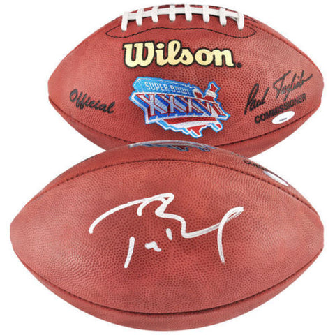 TOM BRADY Autographed Authentic Offical Super Bowl 36 Football TriStar