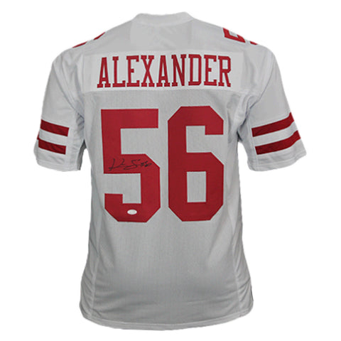 Kwon Alexander Autographed Pro Style Football Jersey White