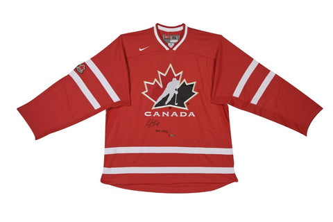 Sean Couturier Autographed & Limited Team Canada Away Jersey