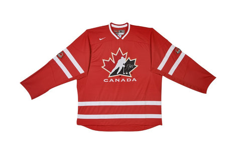 Sean Couturier Limited Autographed Team Canada Replica Jersey