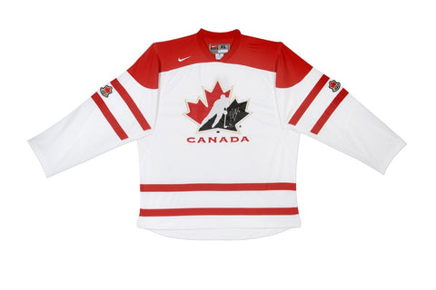 Sean Couturier Autographed & Inscribed Limited Team Canada Replica Jersey
