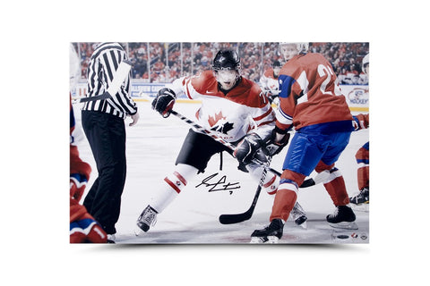 Sean Couturier Signed & Limited Team Canada Picture
