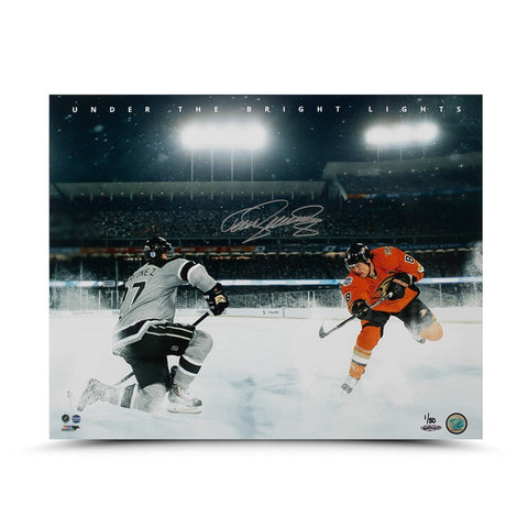 Teemu Selanne Autographed Under the Bright Lights Photo