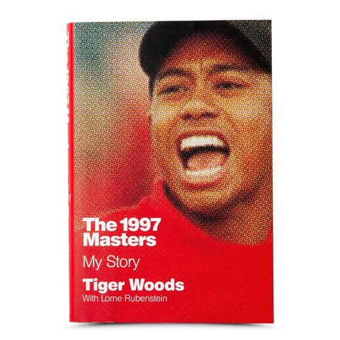 "Tiger Woods Autographed Book ""1997 Masters: My Story"""