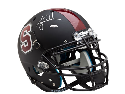Tiger Woods Autographed Black Stanford Authentic Helmet