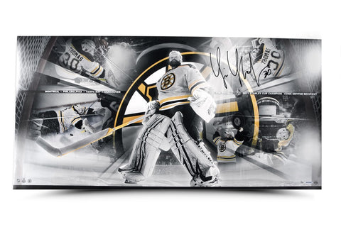 Tim Thomas Signed Playoff Run Panoramic Limited Edition Collage