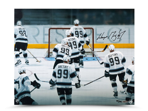 "Wayne Gretzky Autographed ""Respect"" Photo"