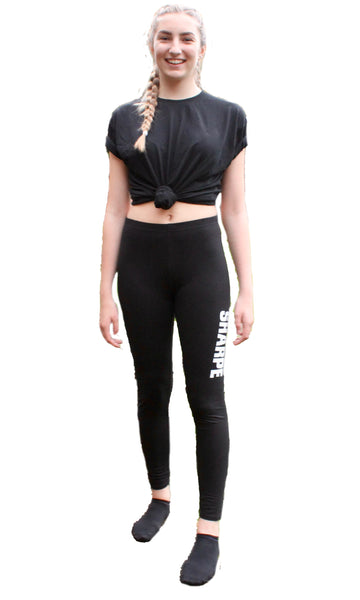 Sharpe Black Leggings