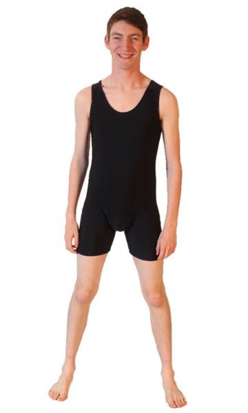 1st Position Scoop Neck Biketard (Boys)