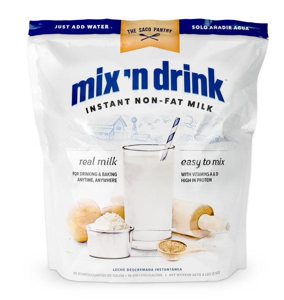 Mix'n Drink Instant Skim Milk