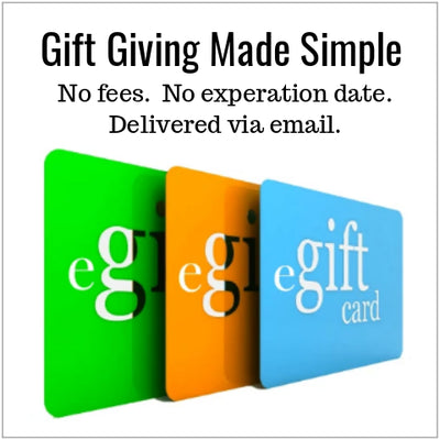 Electronic Gift Cards Available