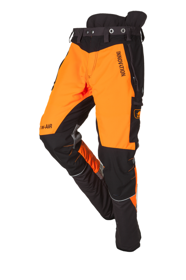 SIP Protection Forest W-AIR Chainsaw Pants Grey/Hi-Vis Orange