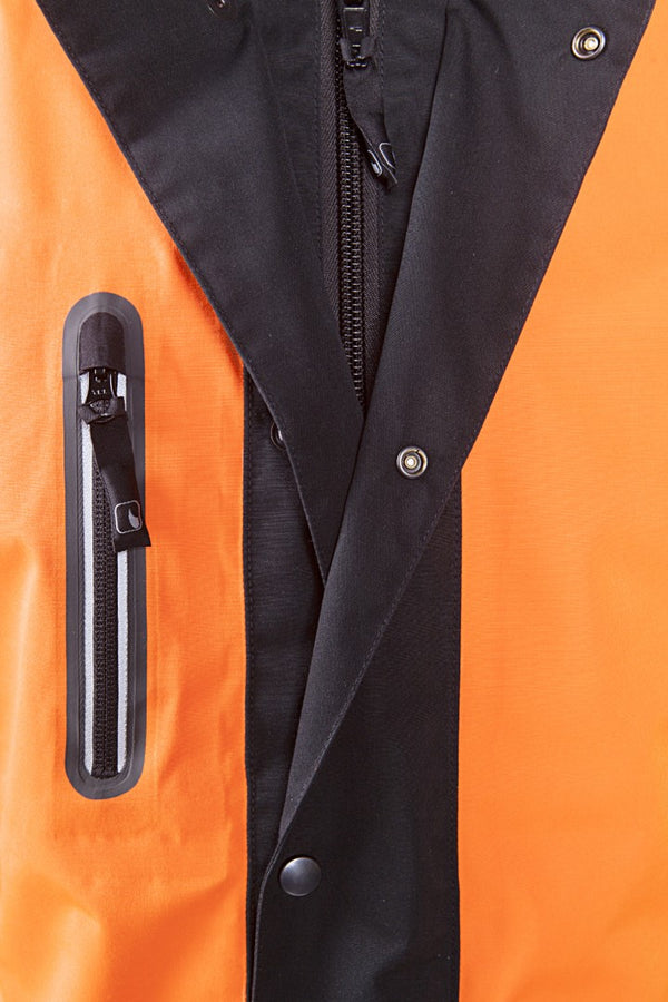 SIP Protection Keiu Rain Jacket Hi-Vis Orange/Black