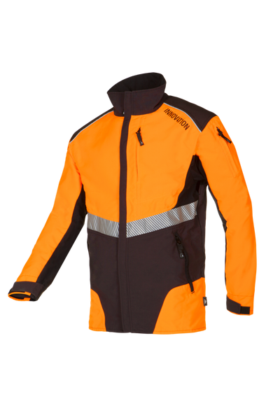 SIP Protection W-AIR Working Jacket Grey/Hi-Vis Orange