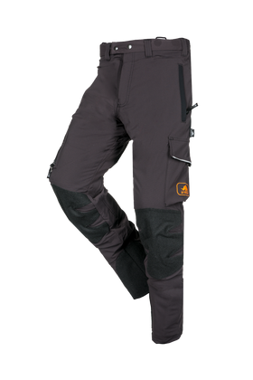 SIP Protection Arborist Chainsaw Pants Grey Anthracite/Black