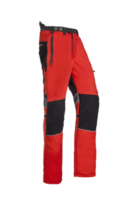 SIP Protection Innovation Chainsaw Pants Red/Grey