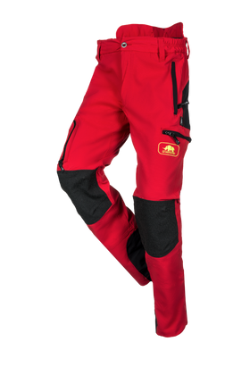 SIP Protection Progress Climbing Pants Red/Black