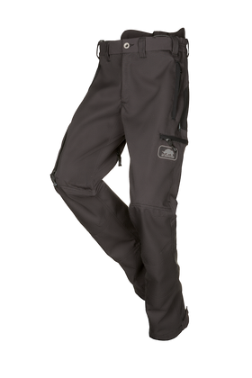 SIP Protection Tracker Ripstop Pants Grey Anthracite/Black