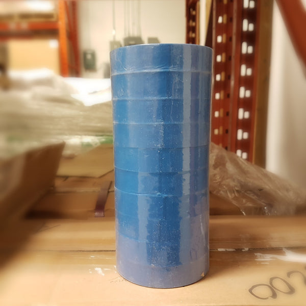 A Roll Of Blue Flagging Tape
