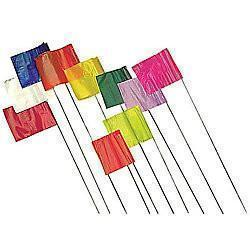 Several Stake Flags, In Various Colours