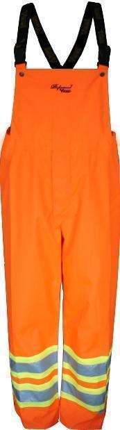 Viking Professional Insulated Tri-zone Bib Rain Pants Orange