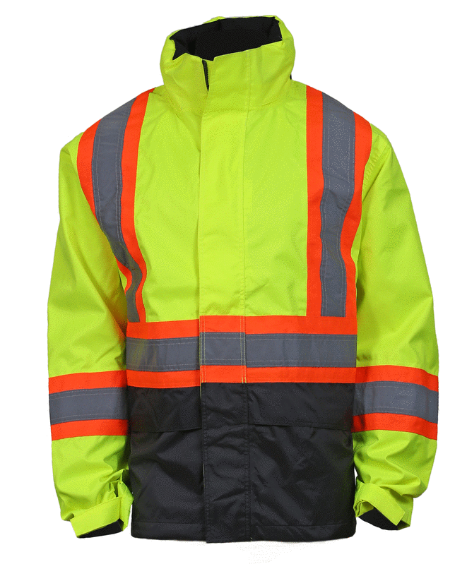 "Helly Hansen Alta Shell Jacket with 4"" Striping"