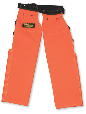 Logger King 600 Denier Apron-Style Chaps with Back Pads