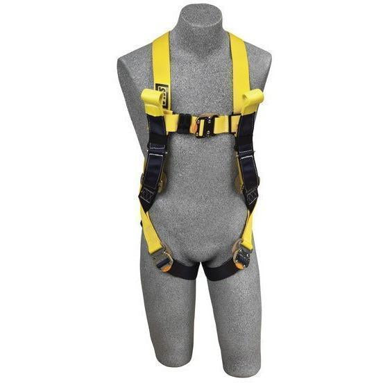 A Yellow Harness On Grey Mannequin, Front View