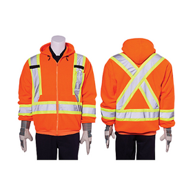 Dynamic Safety Fleece Traffic Hoodie