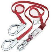 "Dynamic 1"" Web Y-Lanyard with Shock Absorber"