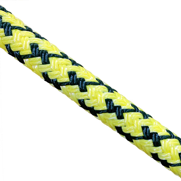 "Atlantic Braids 5/8"" Coated Double Barbed Wire Bull Rope"