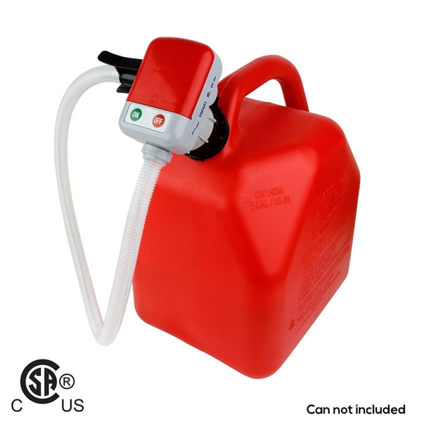 Battery Operated Fuel Transfer Pump with Jerrycan Adapter