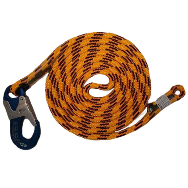 At Height 10' Blaze Single Positioning Lanyard