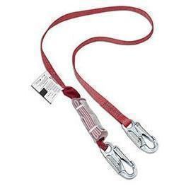 "Dynamic 1"" Web Lanyard with Shock Absorber"
