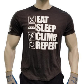 Eat, Sleep, Climb, Repeat T-shirt