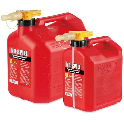 No Spill Gas Safety Cans