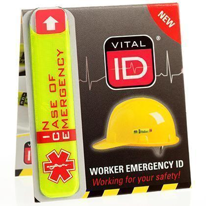 Vital ID Hard Hat Worker Emergency ID