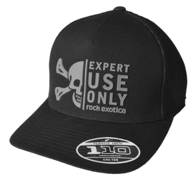 Rock Exotica Trucker Hat Black Mesh