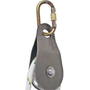 A Carabiner Attached To A Block