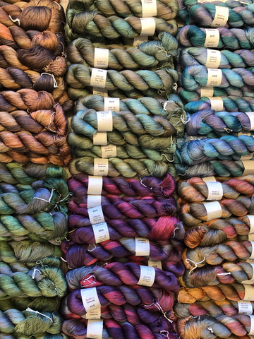 Redfish Dyeworks Custom Dyed Silk