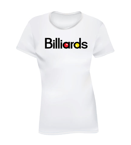 BILLIARDS 2 (Women's Tee)