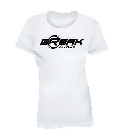 BREAK & RUN (Women's Tee) - White