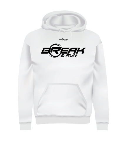 BREAK & RUN (Hoodie) - White